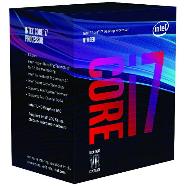 インテル Intel [CPU]Intel Core i7-8700[BX80684I78700]