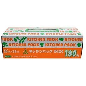 ケミカルジャパン とくとくキッチンパック(180枚入) [ポリ袋]