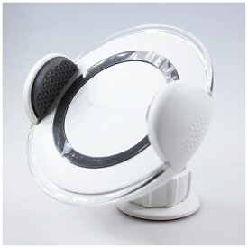 アイキューラボ iQ Labo ワイヤレス充電器[Qi対応]Wireless CAR charger YOGEE YG-CC-WH ホワイト [ワイヤレスのみ][YGCCWH]