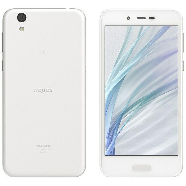 【送料無料】 シャープ SHARP 【スマホエントリーでポイント10倍 8/15 23:59まで】【防水・おサイフケータイ対応】AQUOS sense lite SH-M05ホワイト「SH-M05-W」 Snapdragon 430 5.0型・メモリ/ストレージ:3GB/32GB nanoSIMx1 SIMフリースマートフォン[SHM05_W]