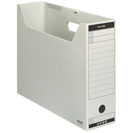 コクヨ KOKUYO [ファイルボックス]ファイルボックス-FS Bタイプ(B4横、収容幅95mm) B4-LFBN-M グレー