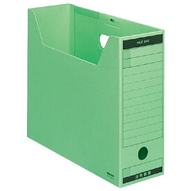 コクヨ KOKUYO ファイルボックス 色厚板紙 A4 収容幅95mm 緑 A4-LFBN-GZ