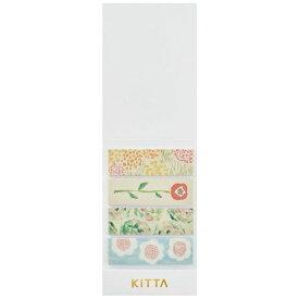 キングジム KING JIM [マスキングテープ]KITTA(キッタ)フラワー2 KIT022