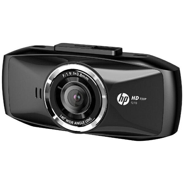 【送料無料】 HP ヒューレット・パッカード ドライブレコーダー F270 [一体型]
