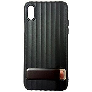 MULTIFUN マルティファン iPhone X用 Multifun メタルスタンドケース ブラック BL-PC20-BK