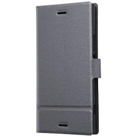 レイアウト rayout Xperia XZ1用 手帳型ケース スリム シルバー RT-RXZ1SLC1/SV