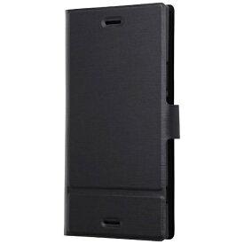 レイアウト rayout Xperia XZ1用 手帳型ケース スリム ブラック RT-RXZ1SLC1/B