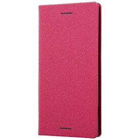 レイアウト rayout Xperia XZ1用 手帳型ケース マグネットタイプ ピンク RT-RXZ1SLC3/JP