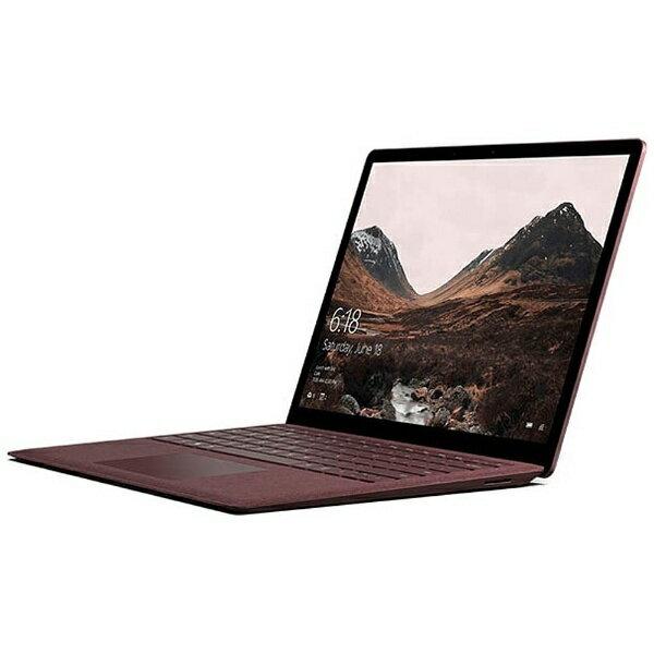 【送料無料】 マイクロソフト 13.5型タッチ対応ノートPC[Office付き・Win10 S・Intel Core i7・SSD 256GB・メモリ 8GB]Surface Laptop バーガンディ DAJ-00058[DAJ00058]
