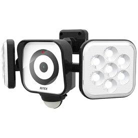 ライテックス RITEX LEDセンサーライト防犯カメラ8W×2灯 CAC8160