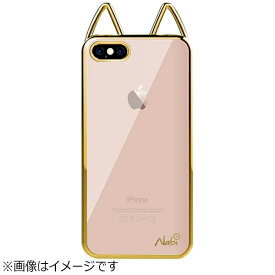 UI ユーアイ iPhone 8 Plus Lovely Nabi Metal Case ゴールド NABI164
