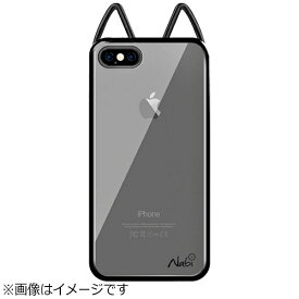 UI ユーアイ iPhone 8 Plus Lovely Nabi Metal Case クローム ブラック NABI162