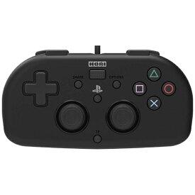 HORI ホリ ワイヤードコントローラーライト for PlayStation4 ブラック PS4-099【PS4】
