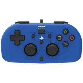 HORI ホリ ワイヤードコントローラーライト for PlayStation4 ブルー PS4-100【PS4】