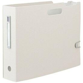 リヒトラブ LIHIT LAB. [ボックスファイル]noie-style ドキュメントボックス(A4ヨコ)F-7691-0 ホワイト【rb_pcp】
