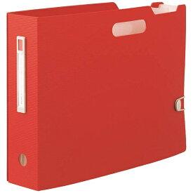 リヒトラブ LIHIT LAB. [ボックスファイル]noie-style ドキュメントボックス(A4ヨコ)F-7691-3 レッド