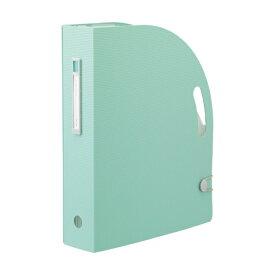 リヒトラブ LIHIT LAB. [ボックスファイル]noie-style ドキュメントボックス(A4タテ)F-7690-19 ライトグリーン