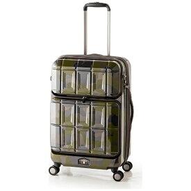 パンテオン PANTHEON スーツケース ハードキャリー 54L(62L) PANTHEON(パンテオン) グリーンカモフラージュ PTS-6006 [TSAロック搭載] 【メーカー直送・代金引換不可・時間指定・返品不可】