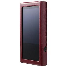 カンパーニュ NW-ZX300用プレミアムレザーケース/ワインレッド CP-NWZX30LCP/WR