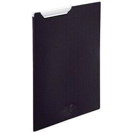 リヒトラブ LIHIT LAB. [ファイル]AQUA DROPs クリップファイル A4 F506724 黒