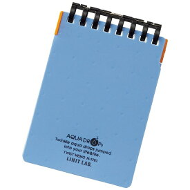 リヒトラブ LIHIT LAB. [メモ]AQUA DROPs ツイストメモ N17618 ブルー