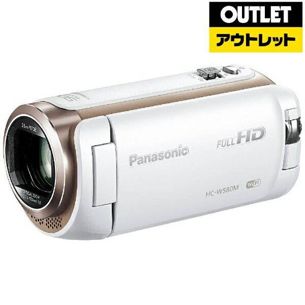 【送料無料】 パナソニック Panasonic 【アウトレット品】HC-W580M ビデオカメラ ホワイト [フルハイビジョン対応][HCW580MW][c-ksale]