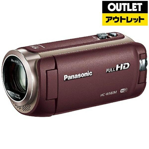 【送料無料】 パナソニック Panasonic 【アウトレット品】HC-W580M ビデオカメラ ブラウン [フルハイビジョン対応][HCW580MT][c-ksale]