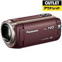 【送料無料】 パナソニック Panasonic 【アウトレット品】HC-W580M ビデオカメラ ブラウン [フルハイビジョン対応][H…