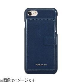 ROA ロア iPhone 8 BackPack Bar ネイビー EB9885I7
