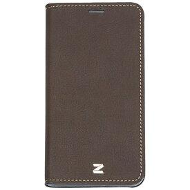 ROA ロア iPhone X用 手帳型 Buffalo Diary ブラウン Z10311I8