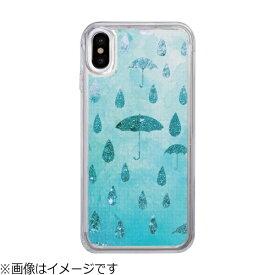 ROA ロア iPhone X用 Sparkle case Raining day IC10345I8