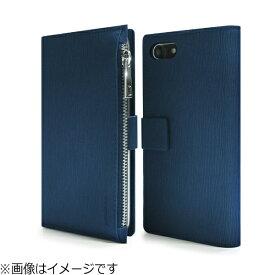 ROA ロア iPhone 8 手帳型 Enter Jacket ネイビー DP10165I7S