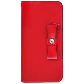 ROA ロア iPhone 8 手帳型レザーケース Elba Leather Case レッド HAN10464I7S