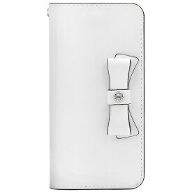 ROA ロア iPhone 8 手帳型レザーケース Elba Leather Case ホワイト HAN10463I7S