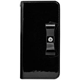 ROA ロア iPhone 8 手帳型レザーケース Elba Leather Case ブラック HAN10462I7S