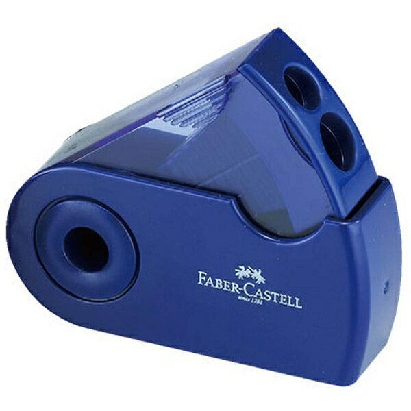 シャチハタ ファーバーカステル 鉛筆削り(角型)TFC-182797-2 ブルー