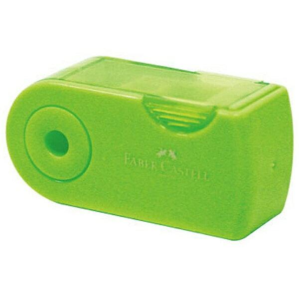 シャチハタ ファーバーカステル 鉛筆削り(角型ミニ)TFC-182702/H-4 グリーン