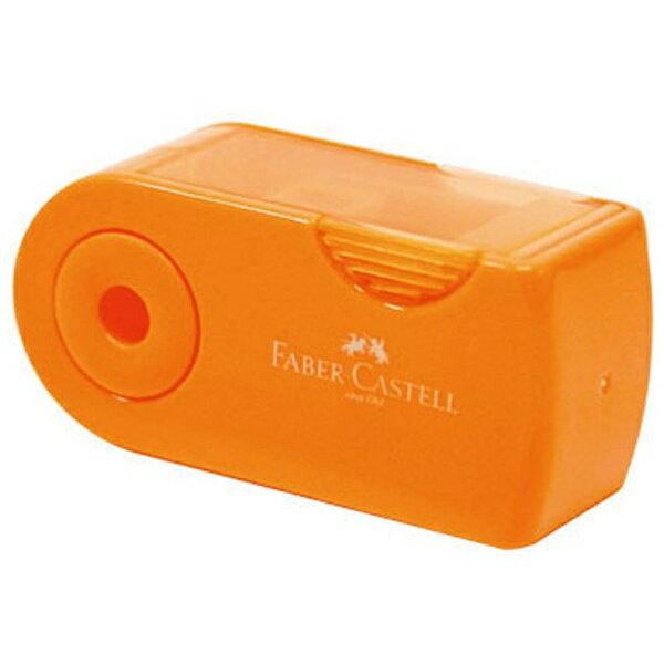 シャチハタ ファーバーカステル 鉛筆削り(角型ミニ)TFC-182702/H-3 オレンジ