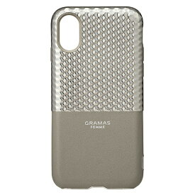 坂本ラヂヲ iPhone X用 Hex Hybrid Case シルバー FHC50317SLV