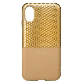 坂本ラヂヲ iPhone X用 Hex Hybrid Case ゴールド FHC50317GLD