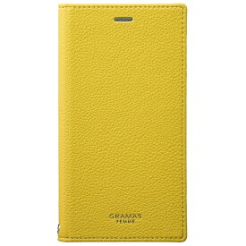 坂本ラヂヲ iPhone X用 手帳型レザーケース Colo Flap Leather Case イエロー FLC60317YLW
