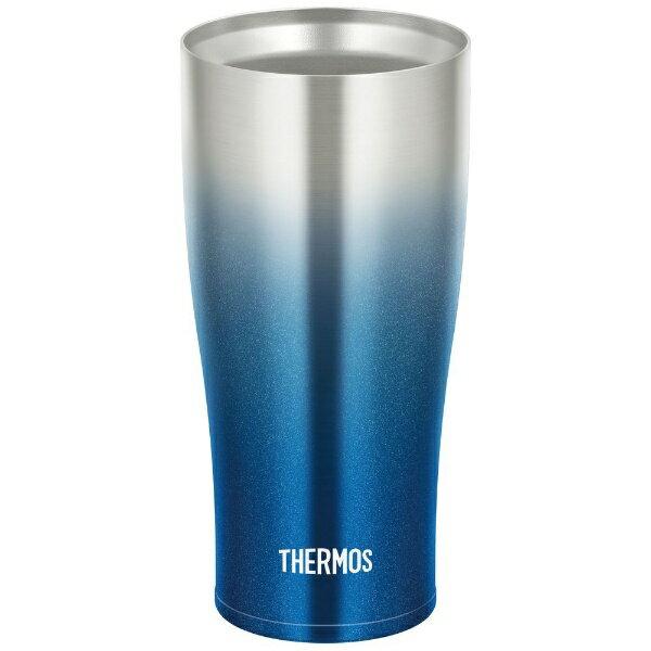 サーモス THERMOS 真空断熱タンブラー(420ml) JDE-420CSP ブルー JDE-420CSP スパークリングブルー[JDE420CSPBL]
