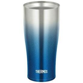 サーモス THERMOS 真空断熱タンブラー スパークリングブルー JDE-420C-SP-BL [420ml][JDE420CSPBL]