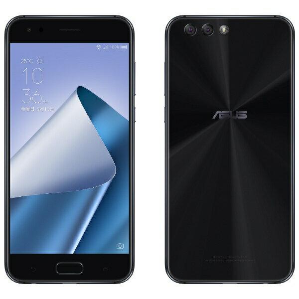 【送料無料】 ASUS ZenFone 4カスタマイズモデルブラック「ZE554KLBK64S4I」 Snapdragon 630 5.5型・メモリ/ストレージ:4GB/64GB NanoSIM×2 DSDS対応 SIMフリースマートフォン[ZE554KLBK64S4I]