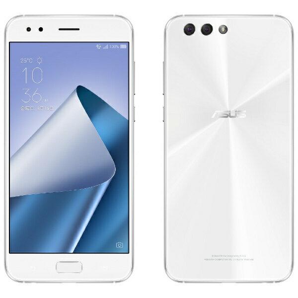 【送料無料】 ASUS エイスース ZenFone 4カスタマイズモデルホワイト「ZE554KLWH64S4I」 Snapdragon 630 5.5型・メモリ/ストレージ:4GB/64GB NanoSIM×2 DSDS対応 SIMフリースマートフォン[ZE554KLWH64S4I]