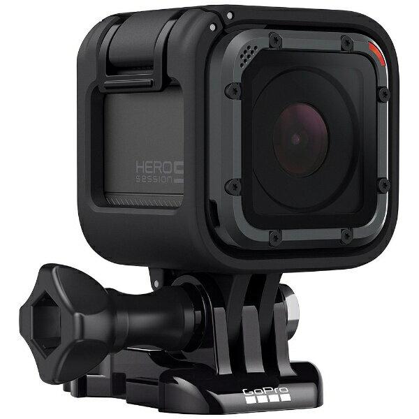 【送料無料】 GOPRO マイクロSD対応 4Kムービー ウェアラブルカメラ GoPro(ゴープロ) HERO5 Session CHDHS-502-AP[CHDHS502AP]