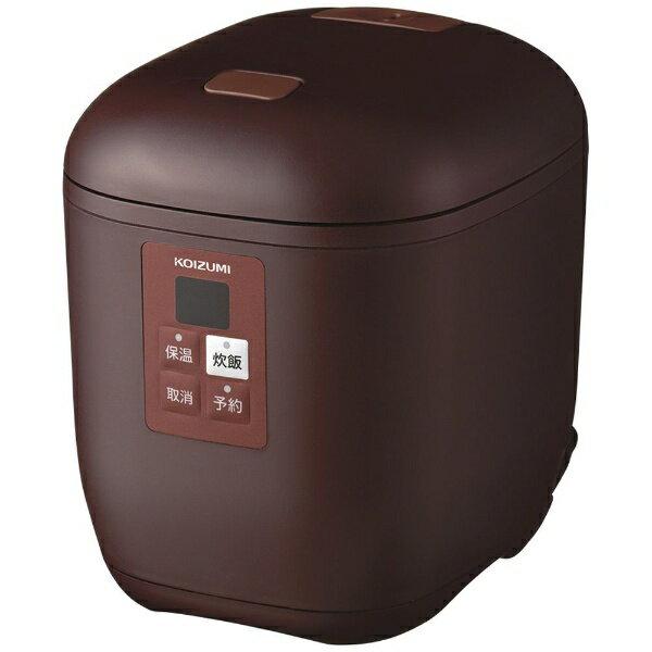 コイズミ KOIZUMI KSC-1512 炊飯器 ライスクッカーミニ ブラウン [1.5合 /マイコン][KSC1512T] [一人暮らし 単身 単身赴任 新生活 家電]