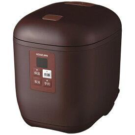 コイズミ KOIZUMI KSC-1512 炊飯器 ライスクッカーミニ ブラウン [1.5合 /マイコン][KSC1512T] [一人暮らし おしゃれ 新生活 家電]