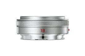 ライカ Leica カメラレンズ TL F2.8/18mm ASPH. ELMARIT(エルマリート) シルバー [ライカT /単焦点レンズ][11089]