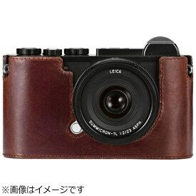 ライカ Leica CL用レザープロテクター(ブラウン)
